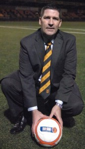 annan athletic manager jim chapman *** Local Caption *** DNG440b