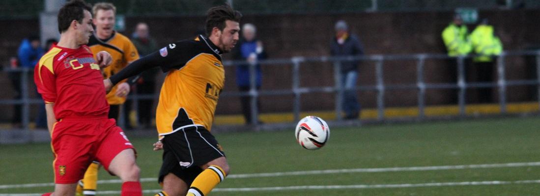 Matt Flynn v Albion Rovers- Banner