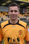 wqd *** Local Caption *** OPENING GOAL . . . David McKenna for Annan