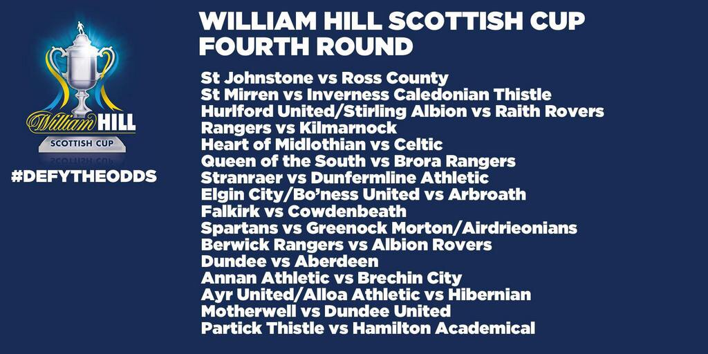 Scottish cup 4th round 2014