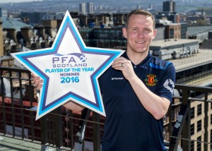 21/04/16    SUTHERLAND HOUSE - GLASGOW     League 2 Player of the Year Nominee Peter Weatherson
