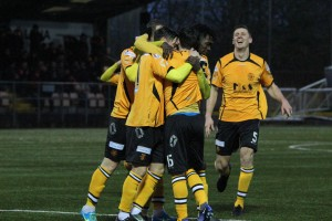 Annan celebrate, Stirling, 28.01.2017