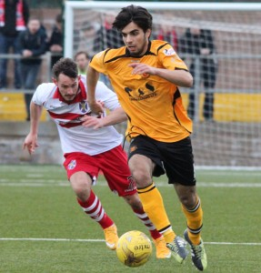 Rabin Omar, Stirling Albion. 27.02.2016 (2)